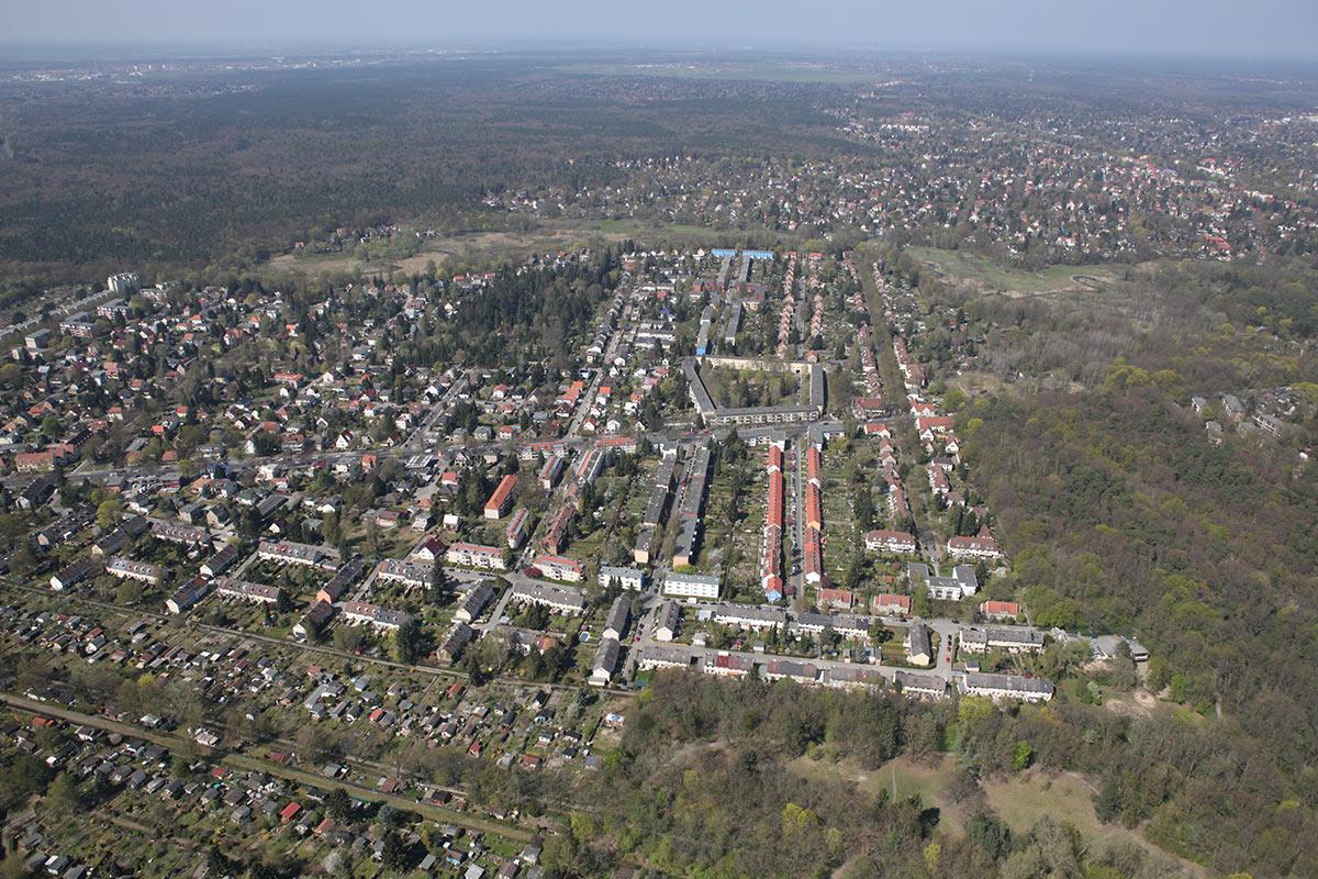 Baugenossenschaft Freie Scholle Zu Berlin Siedlung Tegel